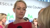 Amber Valletta on being at the event at the National Resources Defense Council's 20th Anniversary Celebration at Beverly Hills CA