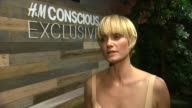 INTERVIEW Amber Valletta on being the fave of the new collection what she loves about HM sustainability efforts what she loves about the Conscious...