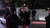 Amber Valletta outside the Chateau Marmont for the W Magazine Celebrates The 'Best Performances' Portfolio And The Golden Globes With Audi And Dom...