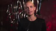INTERVIEW Amber Valletta talks about the energy of NY fashion week at Jimmy Choo 20th Anniversary Event During New York Fashion Week at TBD on...