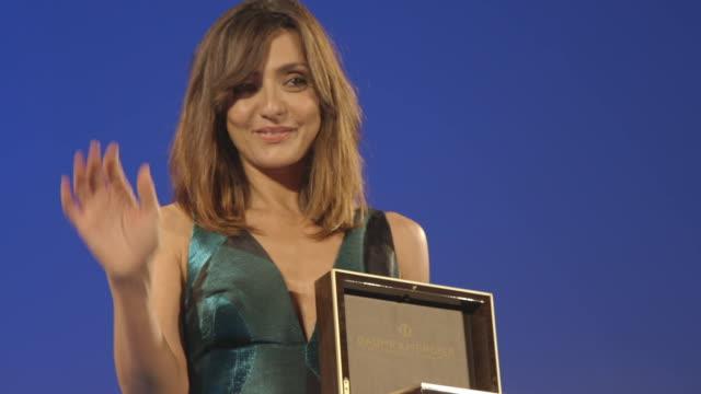 Ambra Angiolini at 62nd Taormina Film Fest on June 18 2016 in Taormina Italy