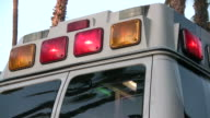 (HD1080i) Ambulance, Rear Flashing Lights