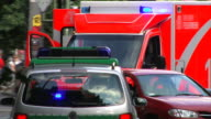Ambulance - Traffic accident in Germany
