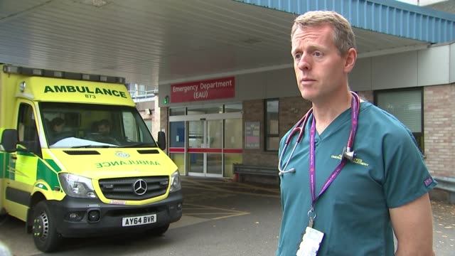 Ambulances frequently miss target times to reach critically ill patients Dr Adrian Boyle interview SOT