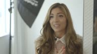 INTERVIEW Amelia Liana talks about her blog at Bloggers Interviews LFW SS15 on September 12 2014 in London England