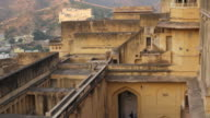 Amer Fort, Jaipur, people exiting