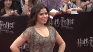 America Ferrara at the 'Harry Potter And The Deathly Hallows Part 2' New York Premiere Arrivals at New York NY