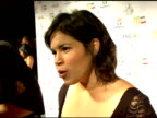 America Ferrera at the Children's Hospital Los Angeles Noche De Ninos Gala Honoring Johnny Depp at the Beverly Hilton in Beverly Hills California on...