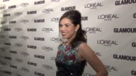 America Ferrera at the Glamour Magazine Honors the 2008 Women of the Year at New York NY
