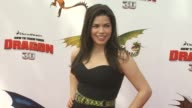 America Ferrera at the 'How To Train Your Dragon' Premiere at Universal City CA