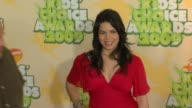 America Ferrera at the Nickelodeon's 22nd Annual Kids' Choice Awards at Los Angeles CA