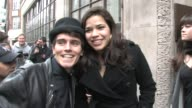 America Ferrera BBC Radio London at the Celebrity Video Sightings in London at London England