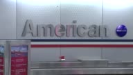 American Airlines In Baggage Claim on November 05 2013 in Chicago Illinois