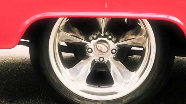 American auto classiche, razza, effetto burnout, racing, Ruota, ruota