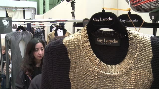 American designer Adam Andrascik made his debut as creative director of Guy Laroche Wednesday showcasing his latest collection at Paris fashion week