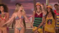 American designer Tommy Hilfiger transported guests to the islands on Monday as he debuted his spring 2016 collection at New York's fashion week