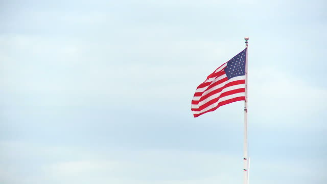 HD: Amerikanische Flagge
