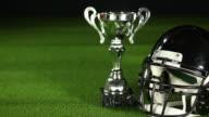 American Football Helmet & Trophy - HD/PAL