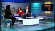 'American Idol ' winner UK chart success ENGLAND London GIR INT Jordin Sparks LIVE STUDIO interview SOT as music heard SOT
