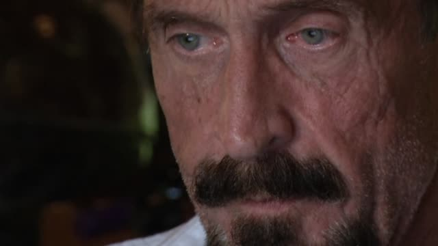 American Internet pioneer John McAfee wanted for questioning over the murder of his neighbor last month in Belize is seeking political asylum in...