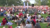 WGN American Women's National Soccer Team Fans Celebrate 2015 World Cup Win In Lincoln Park on July 5 2015