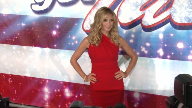 CLEAN 'America's Got Talent' Red Carpet EVENT CAPSULE CLEAN 'America's Got Talent' Red C at the Pantages Theatre on April 24 2013 in Hollywood...