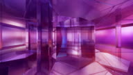 Amethyst and sapphire room