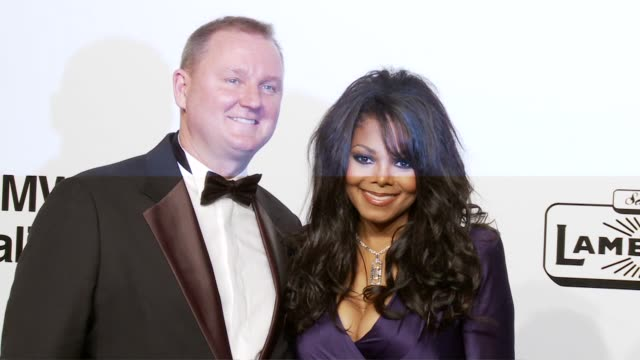 amfAR CEO Kevin Robert Frost Janet Jackson at the amfAR's Inaugural Milan Fashion Week Event at Milan