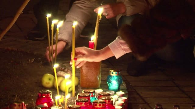 Amid unrest with pro Russian rebels in the east of Ukraine Ukrainians remembered on Saturday the great famine the 1930s during the Stalin era that...