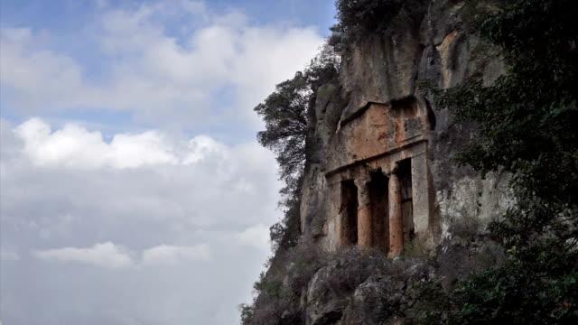 Amintas rock tombs
