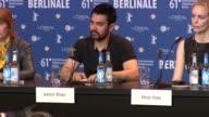Amir Khan at the 61st Berlin Film Festival Jury Press Conference at Berlin