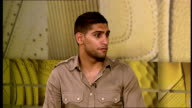 Amir Khan interview Khan interview SOT Talks about his gym in Bolton which has been open for a year / Gets four hundred children through his gym each...