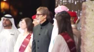 Amitabh Bachchan at the Dubai International Film Festival 2009 Opening Gala at Dubai