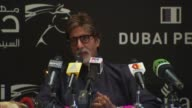 Amitabh Bachchan on how he gets his energy and is able to continue to do projects at the Dubai Film Festival 2009 Amitabh Bachchan Arrival Press...