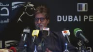 Amitabh Bachchan on the term 'Bollywood' and the Indian film industry's pride in being distinctly Indian at the Dubai Film Festival 2009 Amitabh...