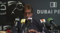 Amitabh Bachchan thanks the Dubai Film Festival for considering him for the award and mentions that in honoring him it is really honoring Indian...