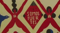 Amnesty International opens an exhibition of illustrations on violence against women in the Mexico City subway one of the biggest in the world and...