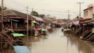 Ampawa Floating Market in Thailand