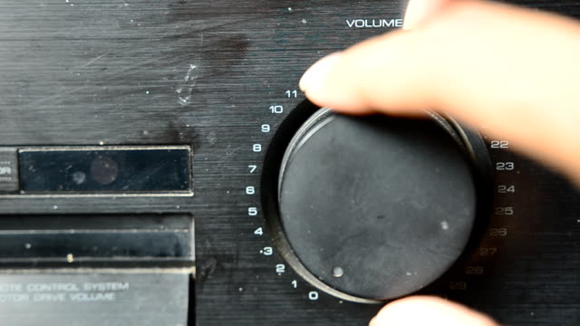 Amplifier button