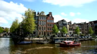 Amsterdamse gracht, time-lapse
