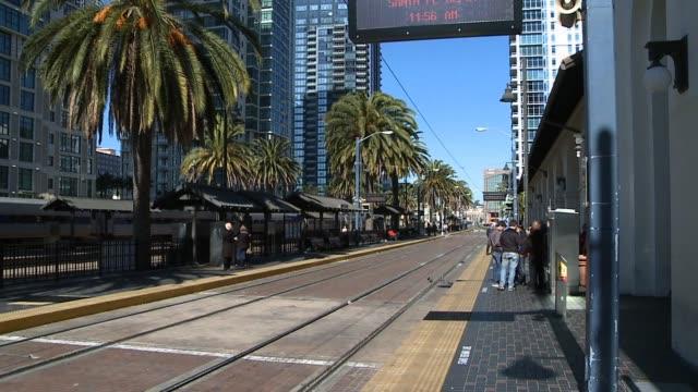 Amtrak Train Station in San Diego California on January 02 2013 in San Diego California