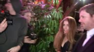 Amy Adams and Darren Le Gallo on their baby Aviana at Chateau Marmont in West Hollywood at Celebrity Sightings in Los Angeles Amy Adams and Darren Le...