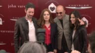 Amy Adams Darren Le Gallo John Varvatos and Joyce Varvatos at The John Varvatos 11th Annual Stuart House Benefit at John Varvatos on April 13 2014 in...