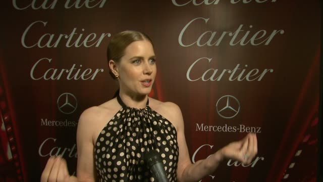 INTERVIEW Amy Adams on what she enjoys about the event at the 25th Annual Palm Springs International Film Festival Awards Gala Presented By Cartier...