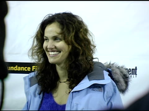 Amy Brenneman at the 2005 Sundance Film Festival 'Nine Lives' Premiere at the Eccles Theatre in Park City Utah on January 24 2005