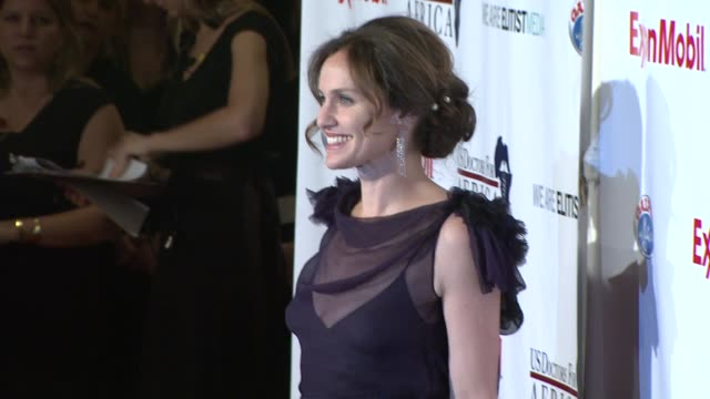 Amy Brenneman at the US Doctors For Africa Honors The First Ladies Of Africa at Beverly Hills CA