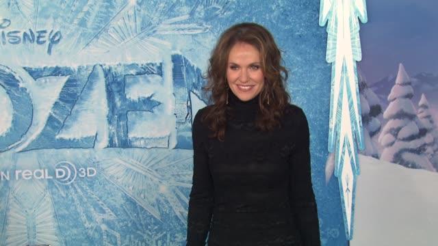 Amy Brenneman at Walt Disney Animation Studios''Frozen' Los Angeles Premiere in Hollywood CA on