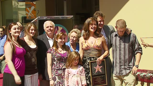 Amy Grant and Family at the Amy Grant Hollywood Walk of Fame Star at Hollywood Boulevard in Hollywood California on September 19 2006