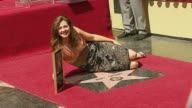 Amy Grant at the Amy Grant Hollywood Walk of Fame Star at Hollywood Boulevard in Hollywood California on September 19 2006