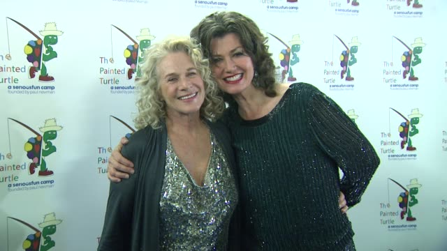 Amy Grant Carole King at A Celebration Of Carole King And Her Music Benefiting The Painted Turtle Camp on 12/4/12 in Los Angeles CA